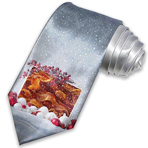 Necktie Bacon Christmas Tie Neonblond