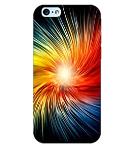 PrintDhaba COLOURFUL PATTERN D-6608 Back Case Cover for APPLE IPHONE 6 PLUS (Multi-Coloured)