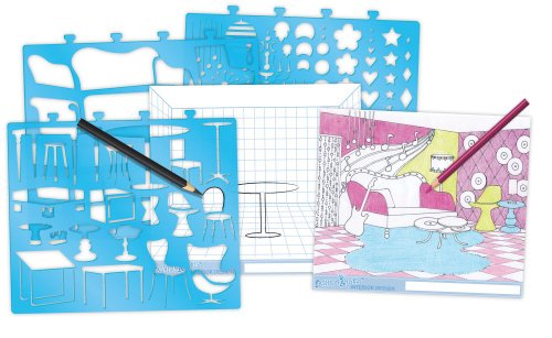 Fashion Angels Interior Design Sketch Portfolio At Shop Ireland