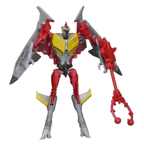 Transformers Prime Beast Hunters Commander Class Starscream Sabotage Specialist Figure - 1