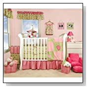 Trend Lab 106510 Jucie Fruit 4-PC Crib Set: 4-Pce Set