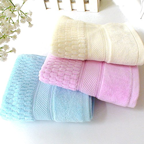 Ustide Floral-Striped Hand Towels for Lover Solid Thick Face Towel High Quality Cotton Towel Super Soft Towel 13.39''x29.93'' 4 pcs for Set 2 pcs face towels eco friendly antibacterial comfy soft towel