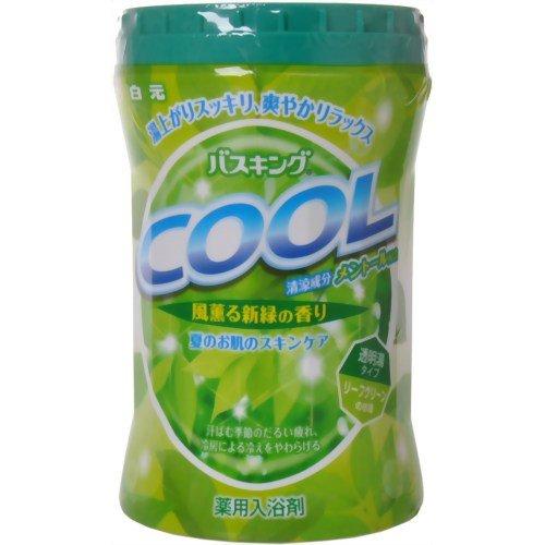 白元 バスキングクール 風薫る新緑の香り 680g