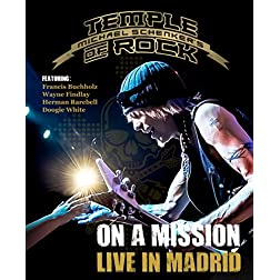 Michael Schenker's Temple Of Rock - On A Mission: Live In Madrid [Blu-ray]