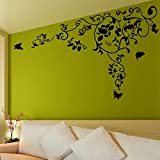 SYGA Wall Stickers Floral Design