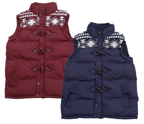 Unisex Brave Soul Burnley Aztec Gilet Body Warmer (X Large 42