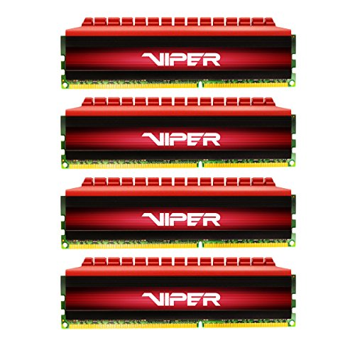 Patriot VIPER 4 Series 3000MHz (PC4 24000) 32GB Quad Channel DDR4 Kit - PV432G300C6QK