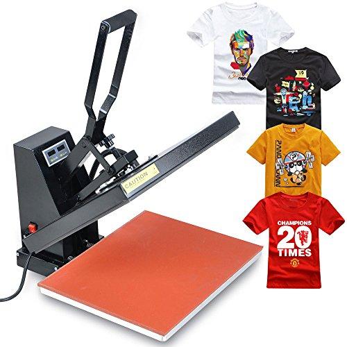 MegaBrand 16x20 T-Shirt Digital Heat Press Transfer Printer Machine (T Shirt Printer Machine Digital compare prices)