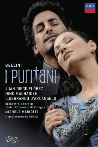 Bellini's I Puritani: Juan Diego Florez / Nino Machaidze / Ildebrando D'Arcangelo / Orchestra e coro del Teatro Comunale di Bologna/ Michele Mariotti [DVD] [2010]