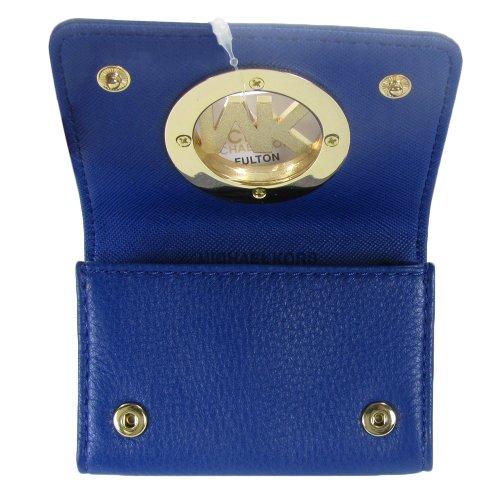 MICHAEL Michael KorsMichael Kors Credit Card Case Mini Wallet Sapphire