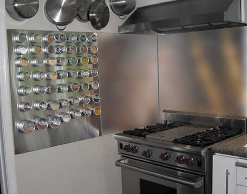 Range Hood Backsplash Stainless Steel