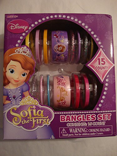 Disney Sofia the First Bangles Set - 15 Ct