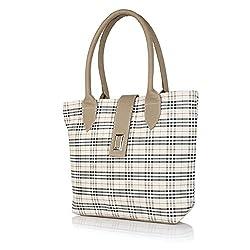 Kreative Bags Women's Handbag (Beige,Cb01141Beige)