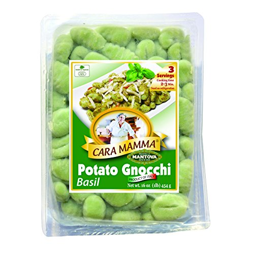 """Cara Mamma"" Basil Potato Gnocchi (Pack Of 6)"