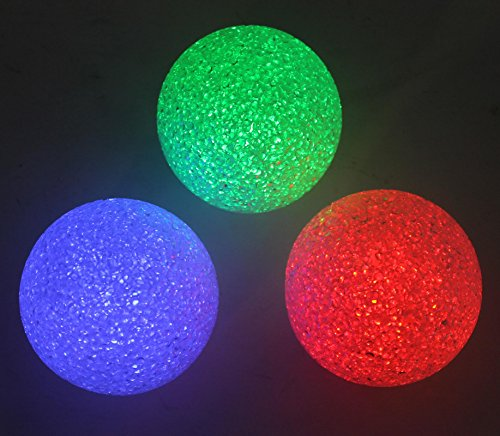 Good Times 21-Pack Color Changing LED Floating Glitter Globe
