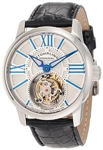 Stuhrling Original Men's 296D.331X2 Viceroy Tourbillon Limited Edition Mechanical Silver Dial Watch