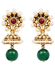 Akshim Multicolour Alloy Earrings For Women - B00NPYC9PW