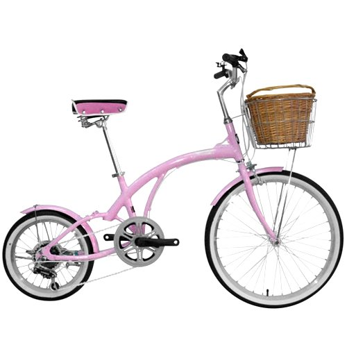Alton Corsa 6 Speed Flora Bike 24 x 16 Inch (Pink)