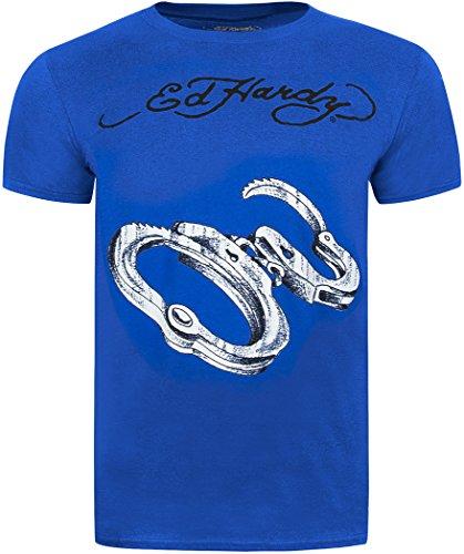Ed Hardy -  T-shirt - Uomo grigio small