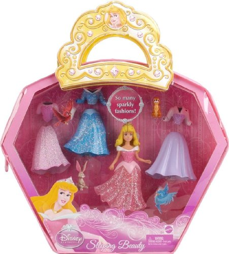 Buy Low Price Mattel Disney Princess Favorite Moments Sleeping Beauty Mini Doll & Playset Figure (B002UF3ON8)