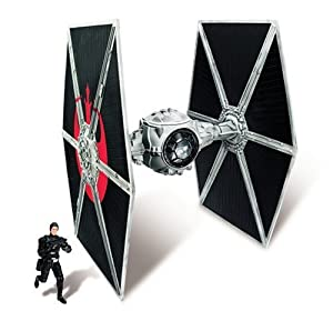 Star Wars Ecliptic Evader Droid Series Pirate Version Tie Fighter with Hobbie Klivian Action Figure