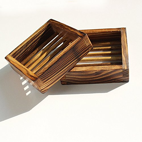 Soap Dish,Bath Accessories Natural Wood Soap Holder. (Type 3)