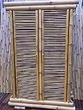 Bambusschrank-Kleiderschrank-Bambus-Schrank-Bambusmbel-Bambusbett-Saigon