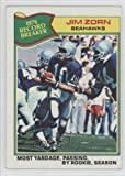 Jim Zorn RB Seattle Seahawks (Football Card) 1977 Topps #455 at Amazon.com