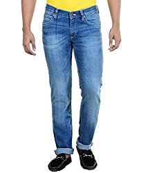 Lee 100% Cotton Mens Casual Faded Jeans