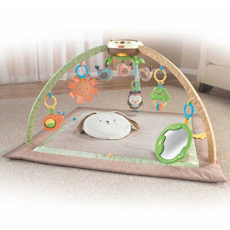 My Little SnugaBunny Deluxe Bouncer | V4650 | Fisher-Price