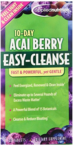 Applied Nutrition 10-Day Berry Easy Cleanse 40 Count