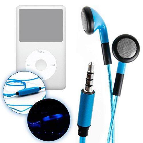 duragadget-auriculares-led-azules-intrauditivos-para-apple-ipod-classic-pano-limpiador-brillan-en-la