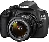 Canon EOS 1200D SLR-Digitalkamera (18 Megapixel APS-C CMOS-Sensor, 7,5 cm (3 Zoll) LCD-Display, Full