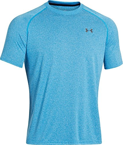Under Armour 428 Men's Tech Short Sleeve T-Shirt - Electric Blue, Small