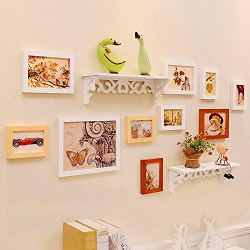 yupd massivem holz warmen stube familienzimmer dekorieren foto wand regale foto frame. Black Bedroom Furniture Sets. Home Design Ideas