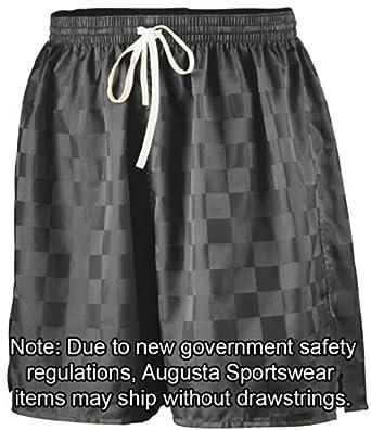 Augusta Sportswear 430 Long Length Checkerboard Nyon Soccer Short