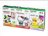Fuji Instax Films Disney Mickey - Pooh - Hello Kitty Set for Instax 7s - 50s - Polaroid Mio - Polaroid 300 - Diana Instant Back+