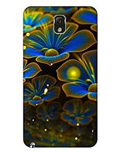 Bikzone Back Cover For Samsung Galaxy Note 3 (Multicolor)