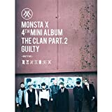 KPOP MONSTA X 4th Mini Album - The CLAN 2.5 Part.2 Guilty [Guilty version] CD + Poster + Photobook + Photocard