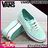 VANS(バンズ) オーセンティック AUTHENTIC (Sparkle) Mint/レディース(ladies') 靴 スニーカー(VN-0VOEC3M)
