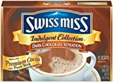 Swiss Miss, Dark Chocolate Sensation, Hot Cocoa Mix, 8 Count, 10oz Box (Pack of 4)