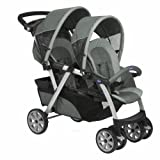 Chicco Together 06079307210000 Twin Pushchair Graphite