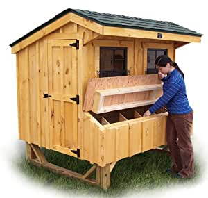 5x6 prefab chicken coop kit eastern us for Homemade chicken coops for sale