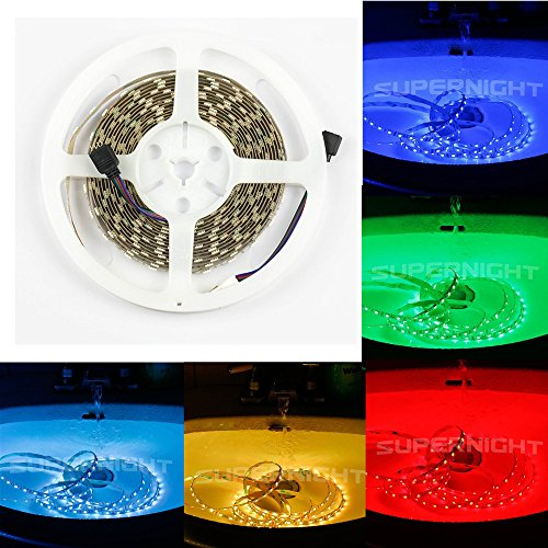 SUPERNIGHT® 16.4FT 5M SMD 5050 Waterproof 300LEDs