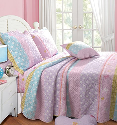 Butterfly Kids Bedding front-1048342