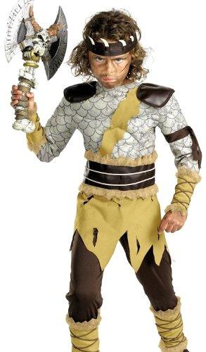 Kids Deluxe Barbarian Destroyer Costume
