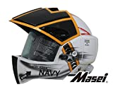 Masei ジェットヘルメット ロボヘル911 NAVY HELMET MMA-911-NAVY-M