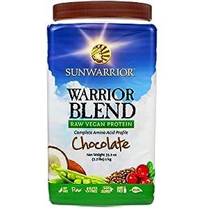 Sunwarrior Warrior Blend Protein, Chocolate 2.2 lbs