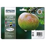 Epson original - Epson WorkForce WF-3010 DW (T1295 / C 13 T 12954020) - Ink cartridge multi pack (black, cyan, magenta, yellow)