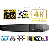 Sony BDP-S6500 Upgraded Multi-Region Zone Free Blu-Ray DVD Player (Color: Black)